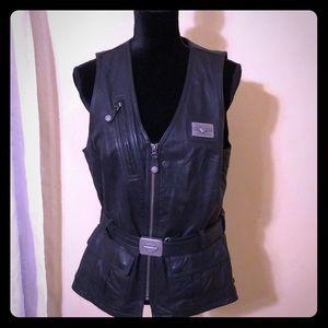 Harley-Davidson original, women's leather vest